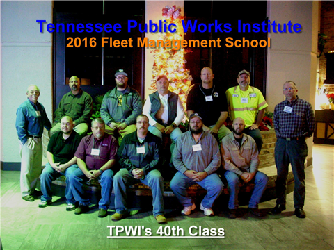 Welcome to the Tennessee Chapter of American Public Works Association